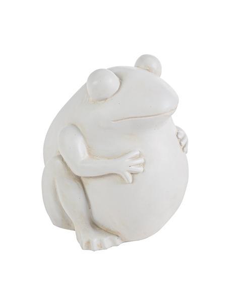 Pflanztopf Frog, Kunststoff, Gebrochenes Weiß, 28 x 30 cm