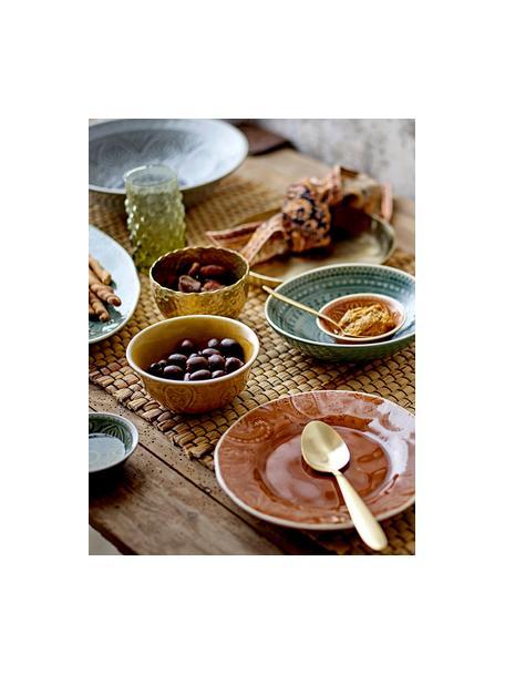 Set 4 ciotole in stile marocchino fatte a mano Rani, Gres, Multicolore, Ø 9 cm