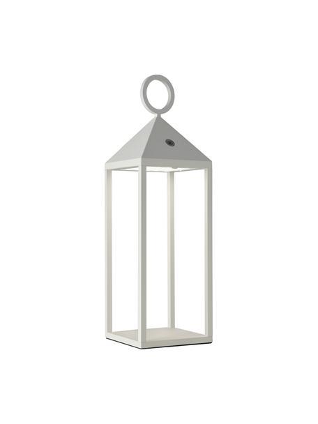 Mobiel dimbare outdoor lamp Cargo, Diffuser: kunststof, Wit, 14 x 47 cm