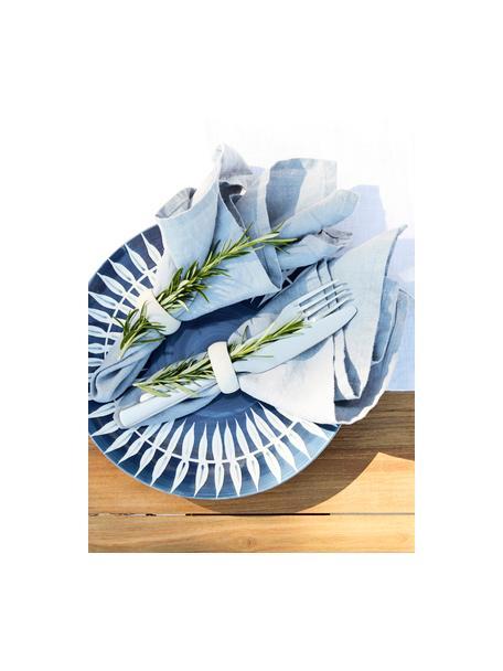 Zilverkleurige bestekset Hune in mat van 18/8 edelstaal, 4 personen (16-delig), Chroom-nikkel edelstaal 18/8 met titaniumcoating, Geborsteld edelstaalkleurig, Set met verschillende formaten