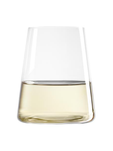 Glazen Power in kegelvorm, 6 stuks, Kristalglas, Transparant, Ø 9 x H 10 cm