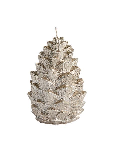 Świeca Nordic Pine, Parafina, Odcienie złotego, Ø 7 x W 10 cm