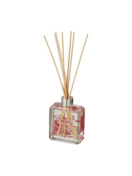 Diffusore Sakura Blush, Contenitore: vetro, Rosa, trasparente, Larg. 9 x Alt. 27 cm