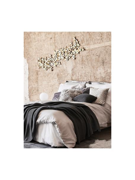 Decoración de pared Butterfly, Metal, Dorado, An 104 x Al 62 cm
