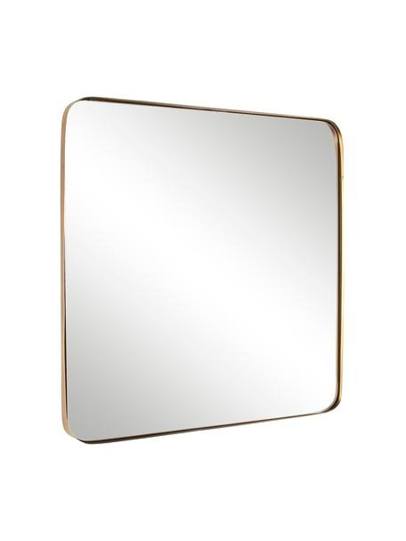Espejo de pared Adhira, con marco de metal, Espejo: cristal, Latón, An 60 x Al 60 cm