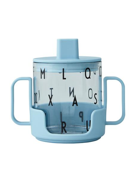 Tazza per bambini con supporto Grow With Your Cup, Tritan, senza BPA, Blu, Ø 7 x Alt. 8 cm