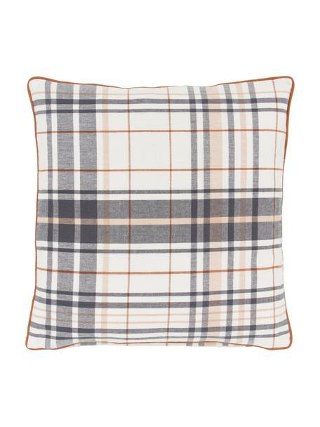Poszewka na poduszkę z lamówką Stirling, 100% bawełna, Wielobarwny, S 45 x D 45 cm