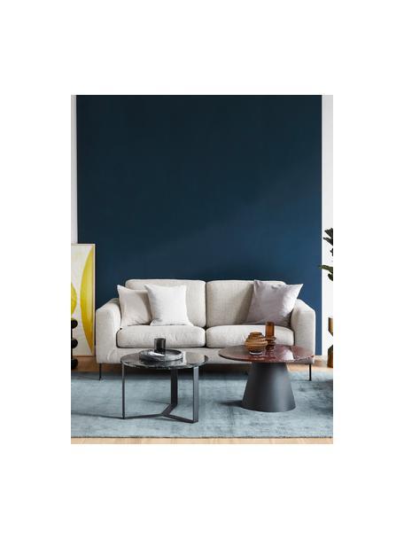 Sofa Cucita (2-Sitzer) in Beige mit Metall-Füssen, Bezug: Webstoff (Polyester) Der , Gestell: Massives Kiefernholz, Webstoff Beige, B 187 x T 94 cm