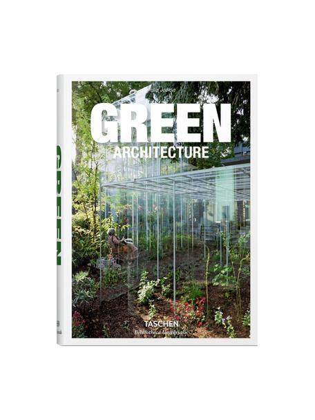 Album Green Architecture, Papier, twarda okładka, Zielony, wielobarwny, S 14 x D 20 cm