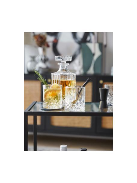 Set de whisky George, 3pzas., Vidrio, Transparente, Set de diferentes tamaños