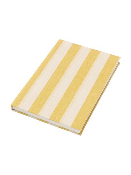 Notitieboek Cleo, Geel, beige, 15 x 21 cm