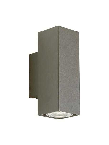 Aplique Peter, Pantalla: metal cromado, Cromo, An 5 x Al 8 cm
