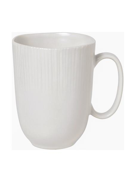 Tazza in porcellana fatta a mano Sandvig 4 pz, Porcellana, tinta, Bianco latteo, Ø 10 x Alt. 12 cm