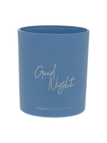 Duftkerze Good Night: Airy Lavender, Behälter: Glas, Blau, Ø 9 x H 10 cm