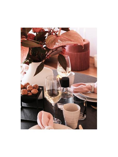 Kieliszek do czerwonego wina ze szkła kryształowego Harmony, 6 szt., Szkło kryształowe o najwyższym połysku, szczególnie widocznym poprzez odbijanie światła Magiczny blask sprawia, że każdy łyk wina jest wyjątkowym doznaniem, Transparentny, Ø 8 x W 24 cm