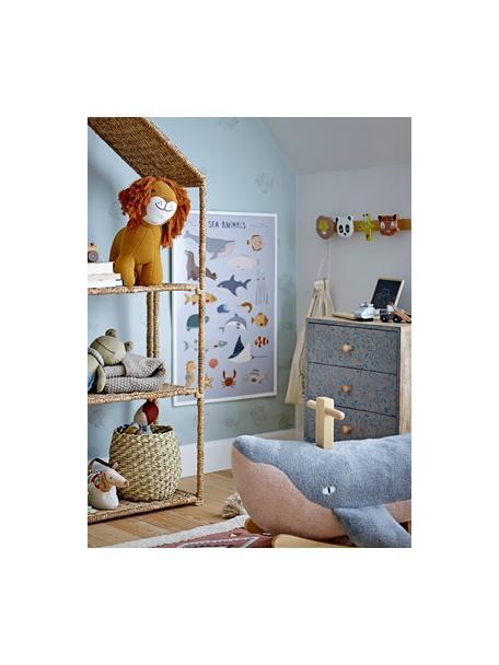 Wandgarderobe Sade, Holz, Mehrfarbig, 47 x 10 cm