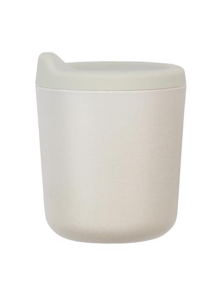 Tuitbeker Bambino, Bamboehoutvezels, melamine, voedselveilig BPA-, PVC- en ftalatenvrij, Lichtgrijs, Ø 7 x H 9 cm