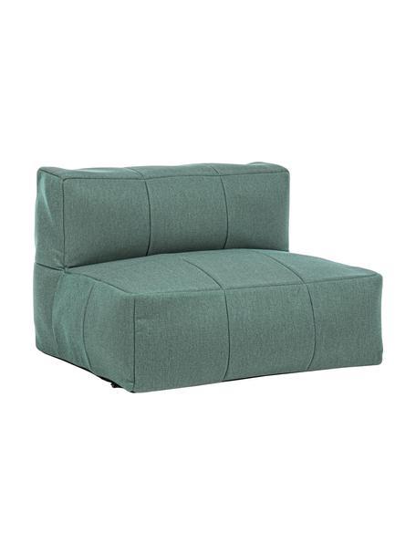 Outdoor loungefauteuil Sparrow, Bekleding: 100% polypropyleen, Frame: gepoedercoat aluminium, Jadegroen, 87 x 64 cm