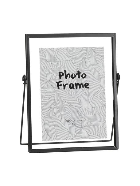 Bilderrahmen Aimee, Rahmen: Metall, Front: Glas, Rahmen: SchwarzFront: Transparent, 13 x 18 cm