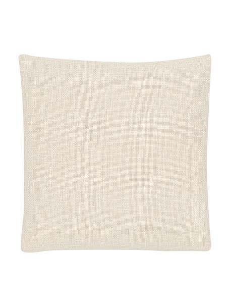 Kissenhülle Anise in Cremeweiß, 100% Baumwolle, Cremeweiß, 45 x 45 cm