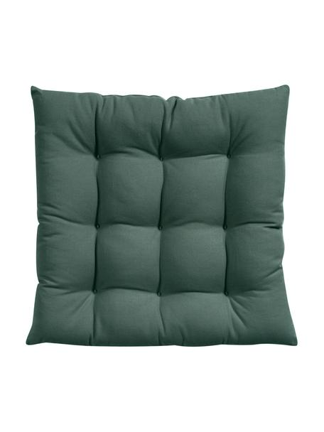 Poduszka na krzesło Ava, Ciemny zielony, S 40 x D 40 cm