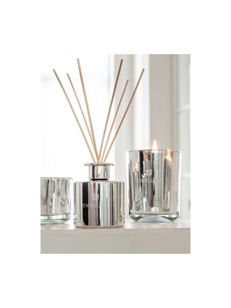 Diffusore Excellent (zucchero filato), Contenitore: vetro, Argentato, Ø 9 x Alt. 28 cm