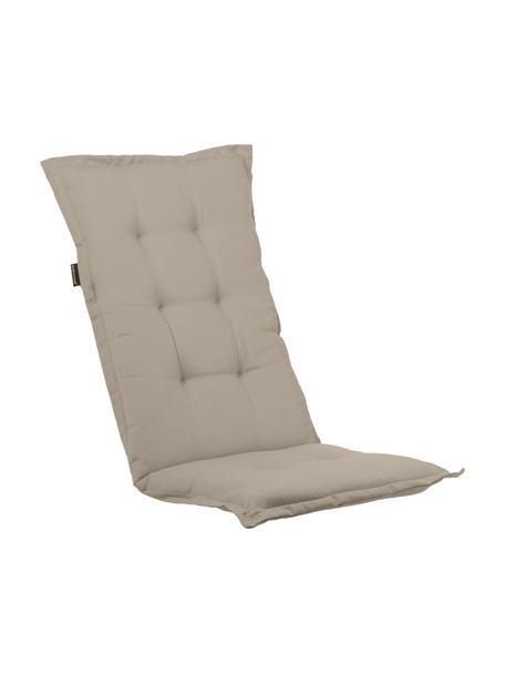 Nakładka na siedzisko z oparciem Panama, Tapicerka: 50% bawełna, 50%polieste, Odcienie piaskowego, S 50 x D 123 cm
