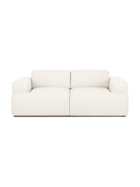 Sofa Melva (2-Sitzer) in Beige, Bezug: Polyester Der hochwertige, Gestell: Massives Kiefernholz, Spa, Webstoff Beige, B 200 x T 101 cm