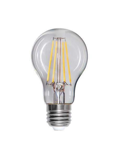 E27 peertje, 8 watt, dimbaar, warmwit, 1 stuk, Peertje: glas, Fitting: aluminium, Transparant, Ø 6 x H 11 cm