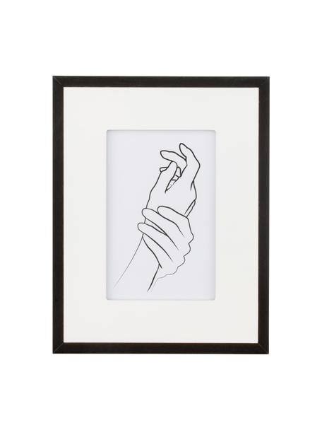 Ramka na zdjęcia Austin Hands, Czarny, S 10 x D 15 cm