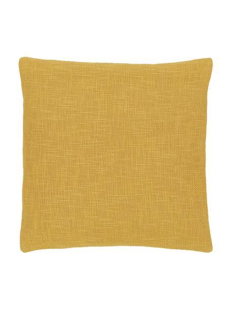 Kissenhülle Anise in Gelb, 100% Baumwolle, Gelb, 45 x 45 cm