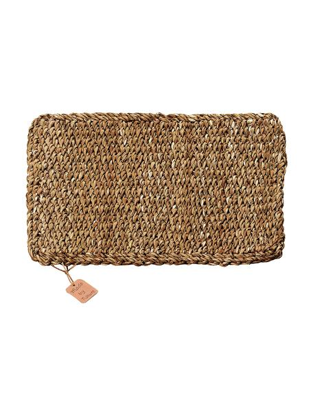 Podkładka z trawy morskiej Sophy, 2 szt., Trawa morska, Beżowy, S 30 x D 41 cm
