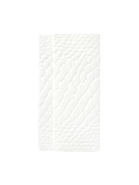Umschlag Snake, Papier, Weiss, 23 x 12 cm