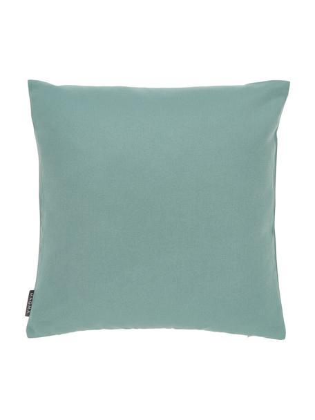 Federa arredo da esterno verde salvia Blopp, Dralon (100% poliacrilico), Verde salvia, Larg. 45 x Lung. 45 cm