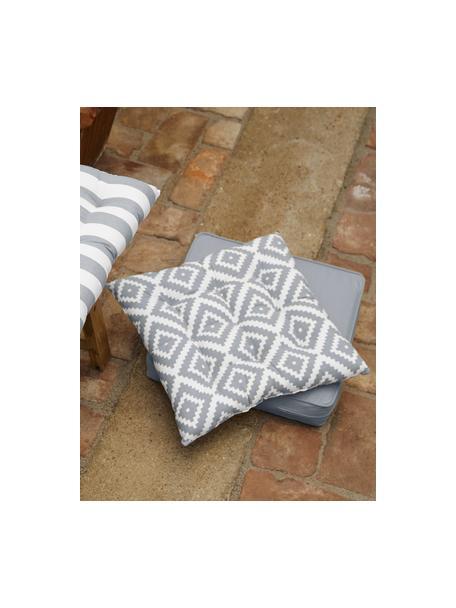 Cuscino sedia alto grigio chiaro Zoey, Rivestimento: 100% cotone, Grigio, Larg. 40 x Lung. 40 cm