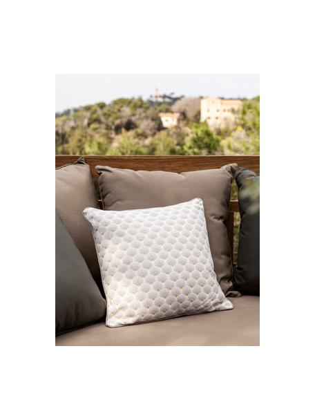 Poduszka z wypełnieniem Corosol, 100% bawełna, Szary, złoty, S 40 x D 40 cm