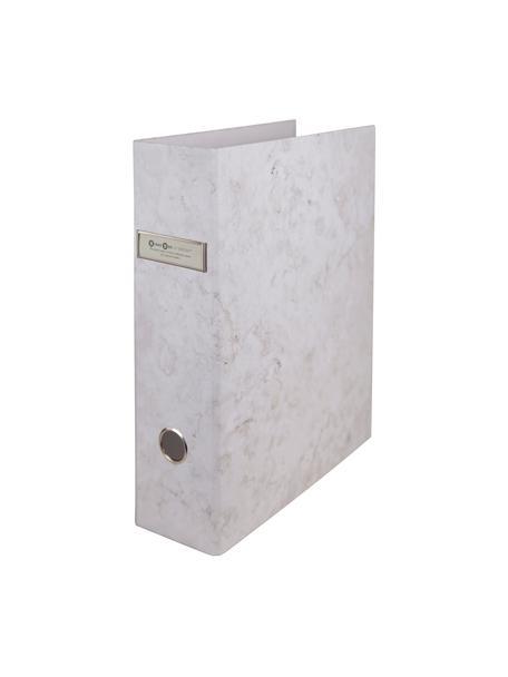 Cartella portadocumenti Archie 2 pz, Bianco, marmorizzato, Larg. 29 x Alt. 32 cm