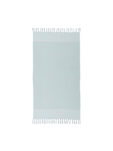 Ręcznik plażowy Freddy, Szałwiowy zielony, S 100 x D 180 cm
