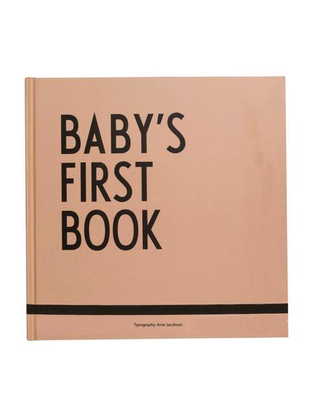 Księga pamiątkowa Baby´s First Book, Papier, Beżowy, S 25 x W 25 cm