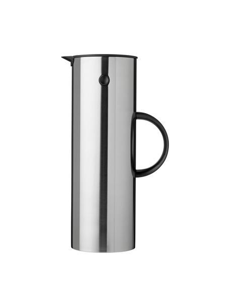 Thermoskan EM77, 1 L, ABS met glazen inleg, Fles: edelstaalkleurig. Handvat: zwart, 1 l