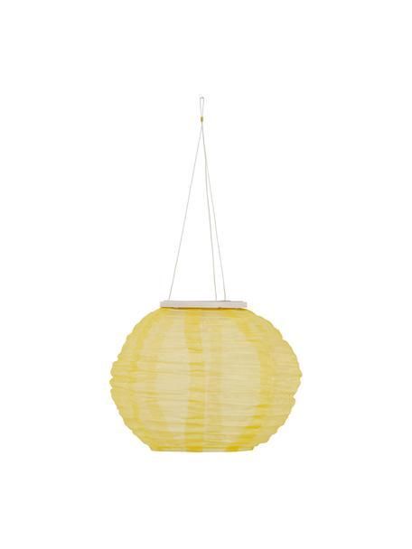 Solar Hängelampe Festival, Lampenschirm: Polyester, Beige, Ø 25 x H 21 cm