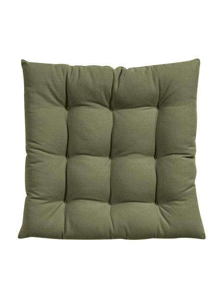 Poduszka na siedzisko Ava, Zielony, S 40 x D 40 cm