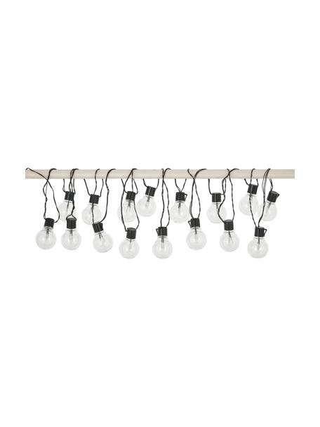 Girlanda świetlna LED Partaj, 950 cm i 16 lampionów, Czarny, D 950 cm