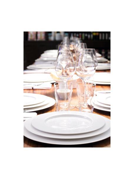 Platzteller à Table in Weiß aus Fine Bone China, Fine Bone China (Porzellan) Fine Bone China ist ein Weichporzellan, das sich besonders durch seinen strahlenden, durchscheinenden Glanz auszeichnet., Weiß, Ø 32 cm