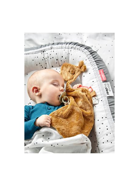 Gniazdo niemowlęce Dreamy Dots, Tapicerka: 100% bawełna, certyfikat , Szary, S 50 x D 93 cm
