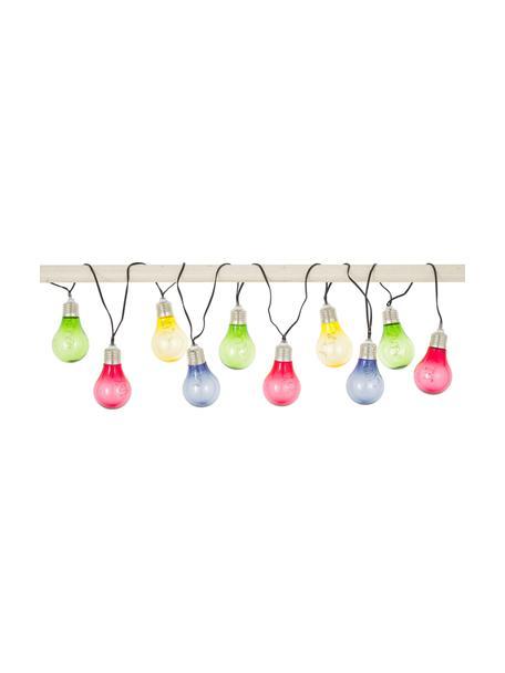 Solar lichtslinger Glow, 150 cm, 10 lampions, Lampions: kunststof, Multicolour, L 150 cm