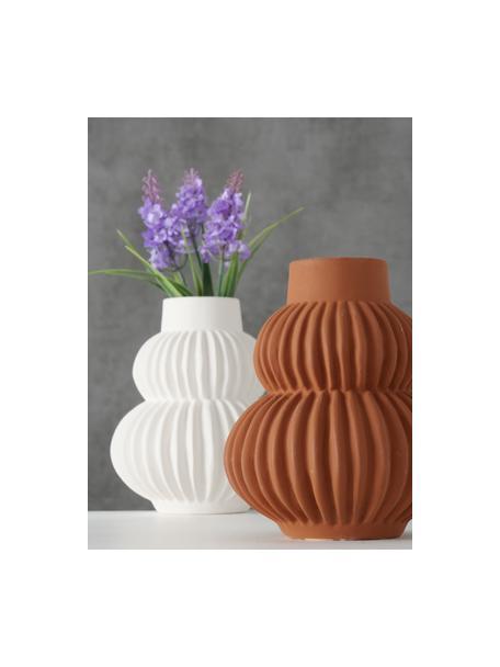 Komplet ręcznie wykonanych wazonów z dolomitu Altena, 2 elem., Dolomit, Wielobarwny, Ø 13 x W 16 cm