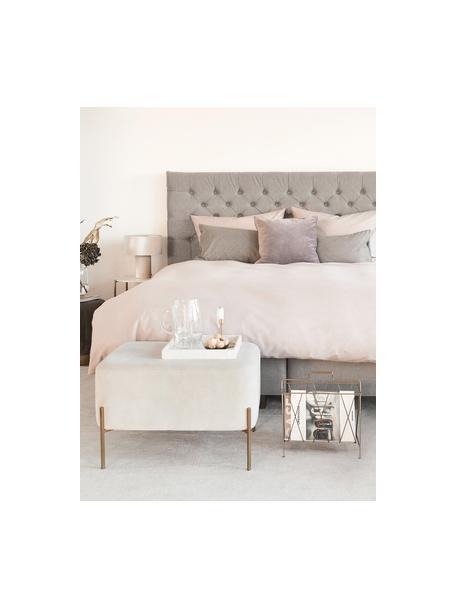 Pościel z satyny bawełnianej Comfort, Blady różowy, 135 x 200 cm + 1 poduszka 80 x 80 cm