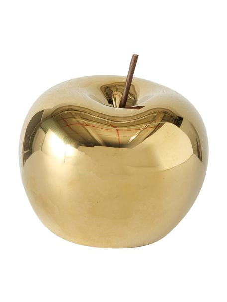 Deko-Objekt Nesta, Porzellan, Goldfarben, Ø 10 cm