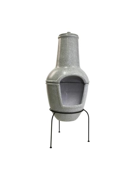 Terrassen-Ofen Cozy, Gestell: Metall, beschichtet, Grau, Ø 44 x H 112 cm